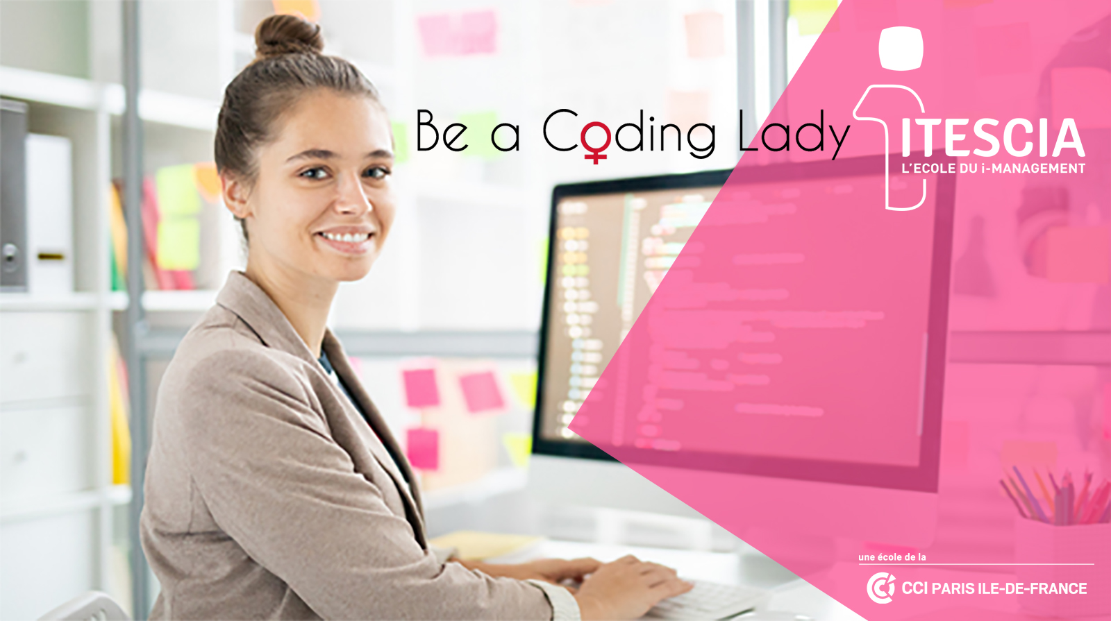 Be a coding lady
